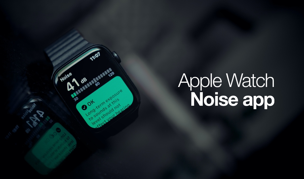 Apple Watch Noise app, how to set up and use