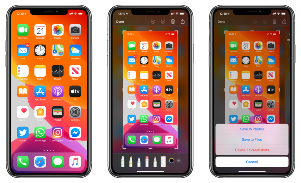 How To Take Screenshot On Iphone 11 Iphone 11 Pro Max