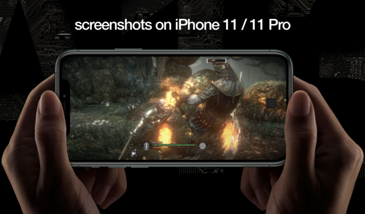 take screenshot on iPhone 11