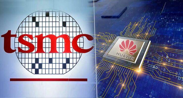 TSMC Huawei China