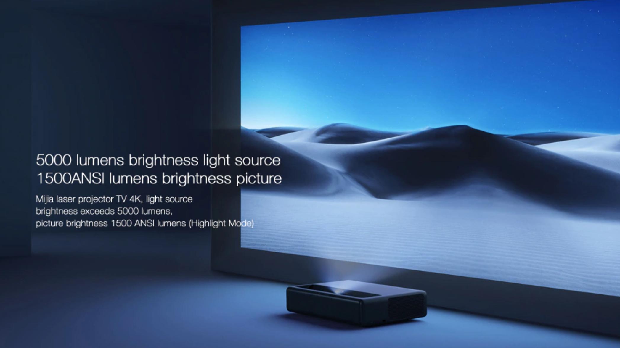 xiaomi 4k projector