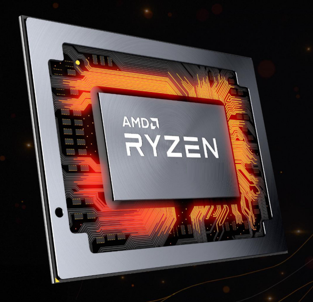 Amd Ryzen 7 4700g Renoir 8 Core Flagship Apu Overclocked To 4 55 Ghz Across All Cores Benchmarked Faster Than Ryzen 7 3800x Core I7 10700k