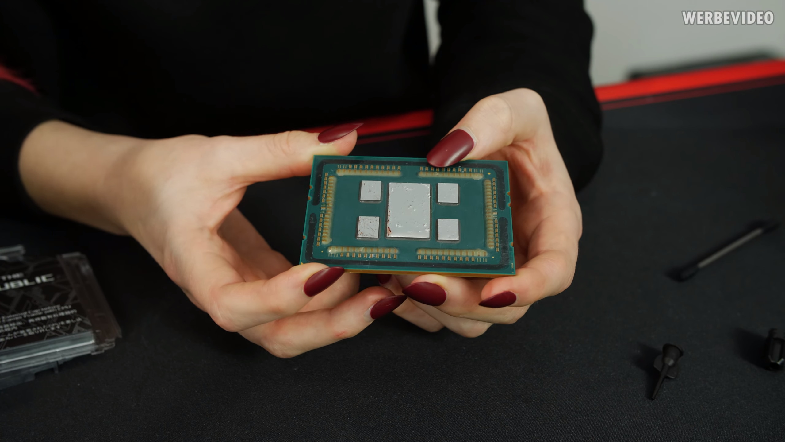 AMD Threadripper pictured