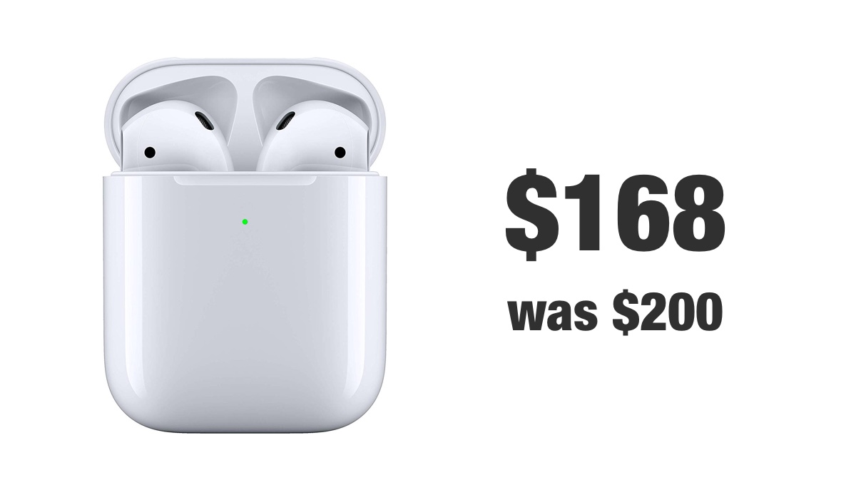 AirPods 2 discounted for Christmas