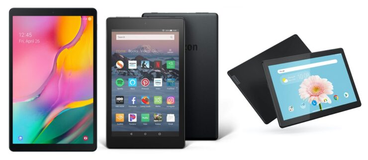 Android tablets on sale for Cyber Monday