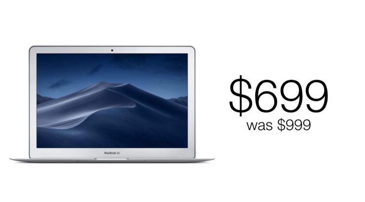 MacBook Air discounted for Boxing Day