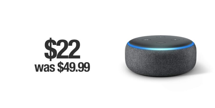 Echo Dot keenly discounted for Cyber Monday