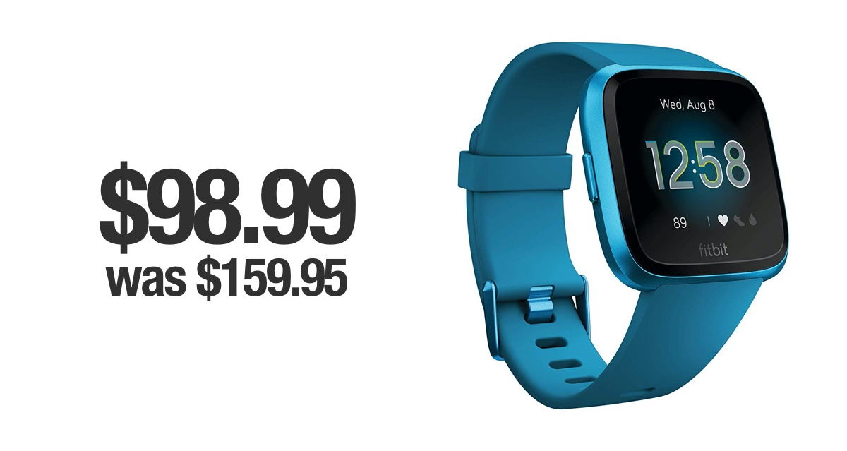 Cyber Monday Deal Fitbit Versa Lite Edition For 98 99 Was 159 95