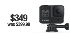 GoPro HERO8 discounted for cyber Monday