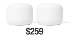 Google Nest Wifi 2-pack discounted for Cyber Monday