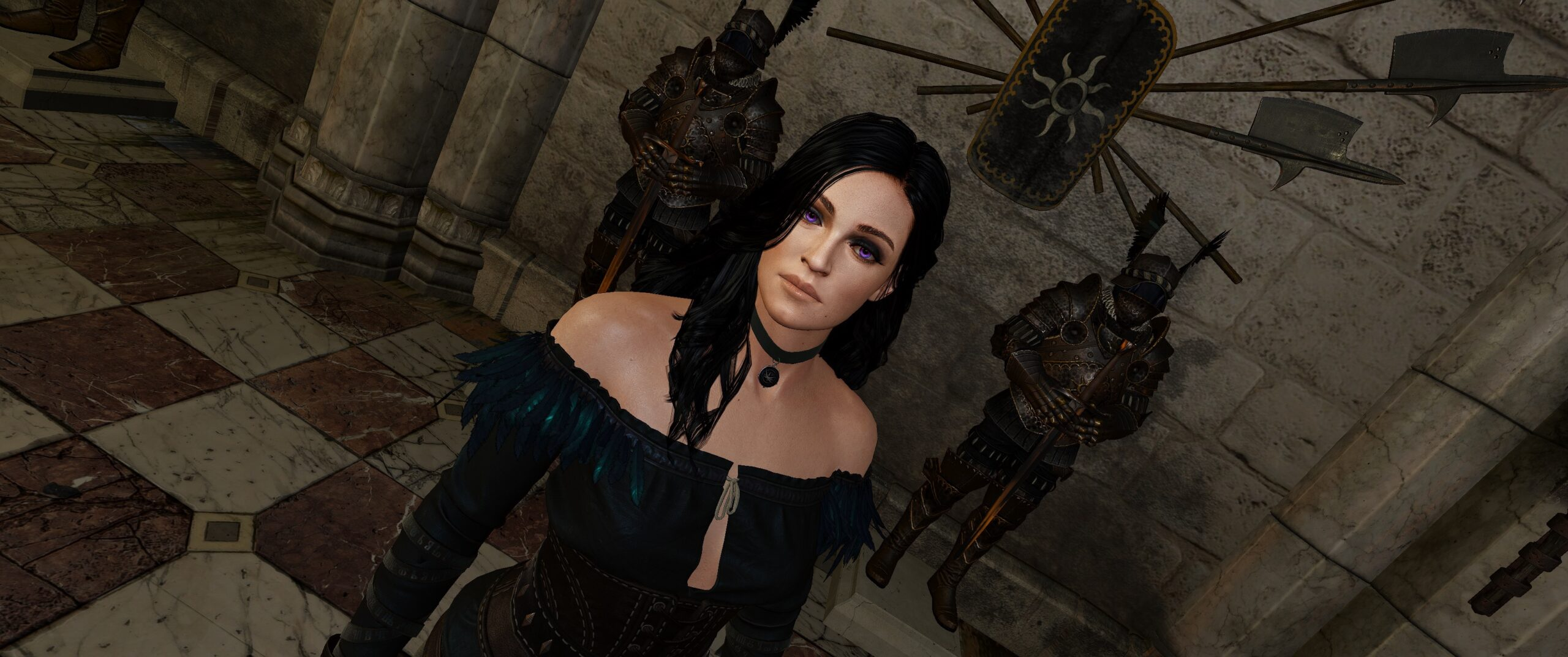 Play As Henry Cavill In The Witcher 3 With Anya Chalotra As
