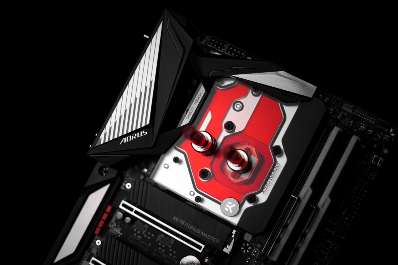 Ekwb Announces Their Quantum Waterblock For The Gigabyte X570 Aorus Master Motherboard