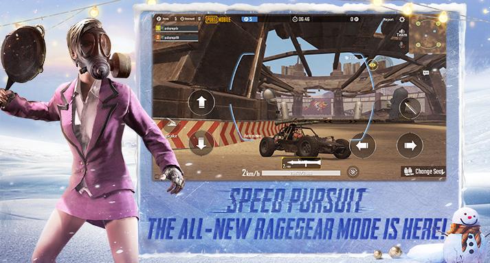 PUBG Mobile 0.16.0 Rage Mode