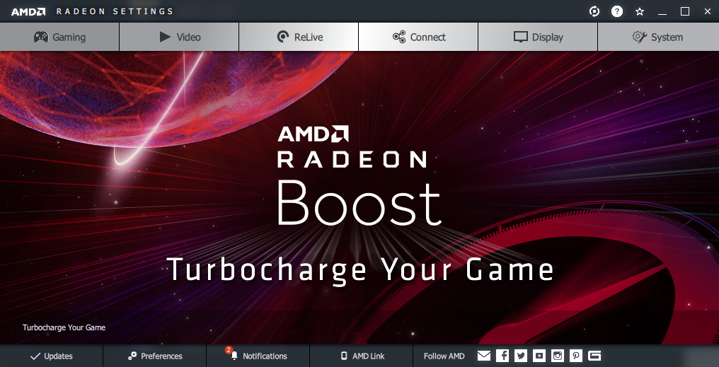 Radeon Boost Coming With Amd Adrenalin 2020 Edition