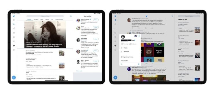 Twitter for iPad Update