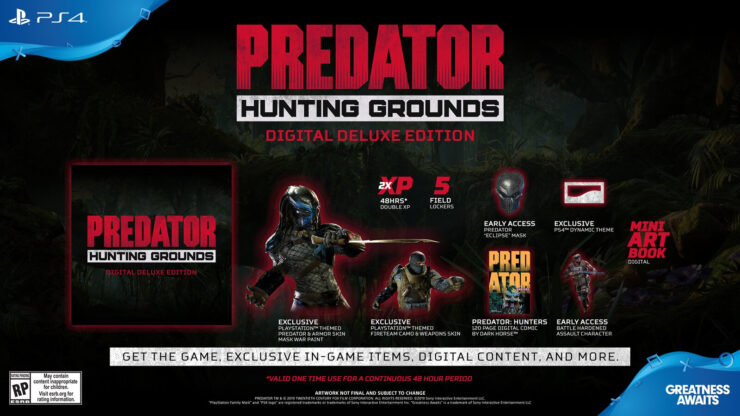 Predator: Hunting Grounds Gets a Release Date and a New