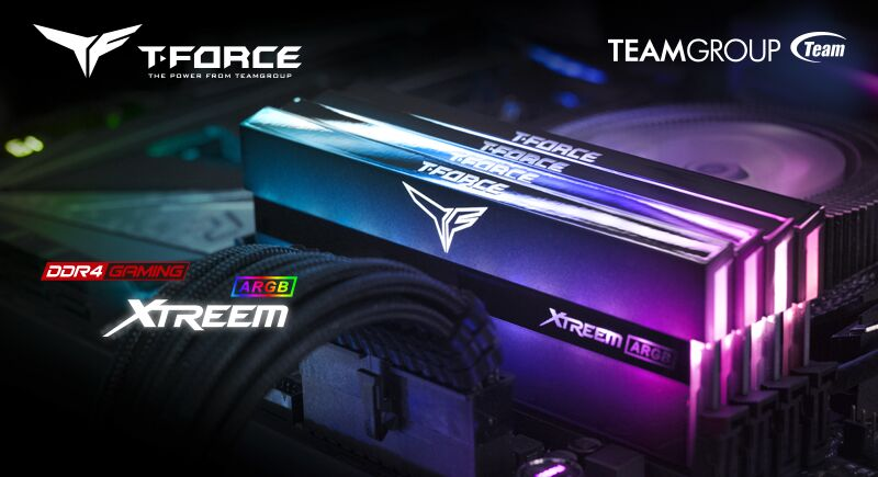 TEAMGROUP T-FORCE XTREEM ARGB Gaming Memory_Main Featured