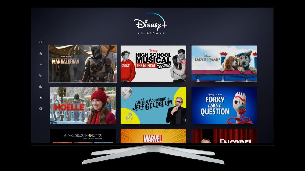 Disney+ Video Streaming UK EU