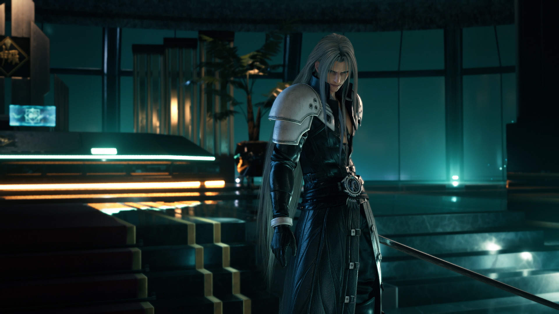 New Final Fantasy 7 Remake Screenshots And Details Highlight Sephiroth Aerith The All New Roch Shiva Summon And More