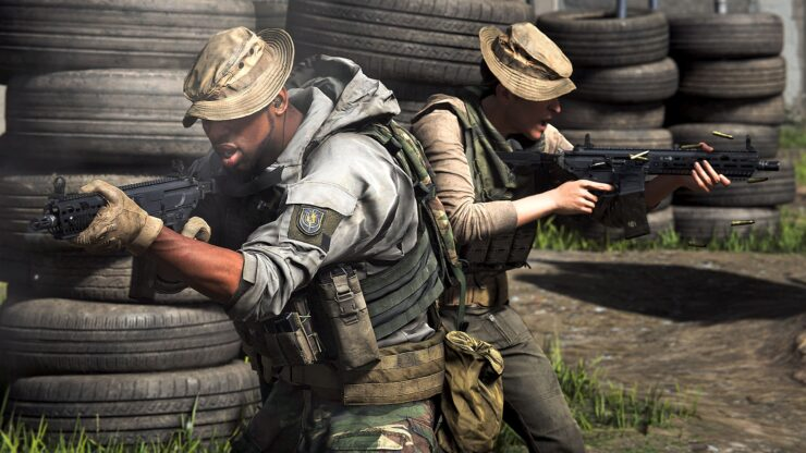 Gunfight Modern Warfare