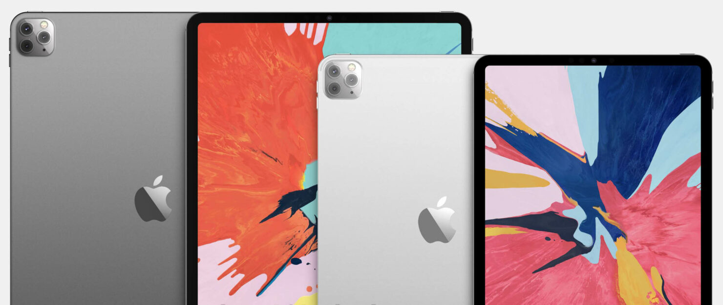 2020 iPad Pro Design, Triple Camera & More Shown in Latest Renders