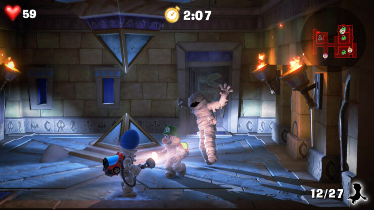 Luigi Mansion Update Adds Dlc Button Amp Fixes Various Issues First Multiplayer