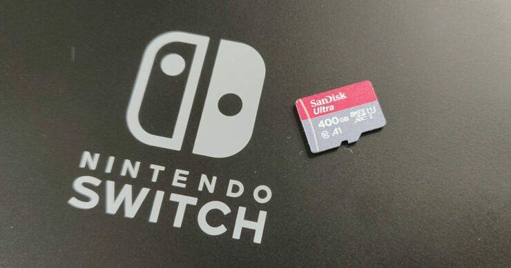 Nintendo Switch MicroSD Card Data from One to Another