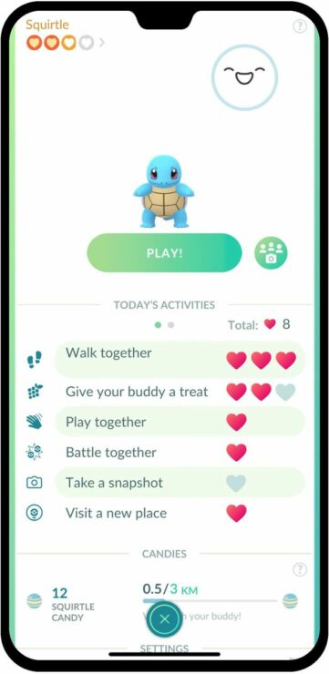 Image result for pokemon go buddy update