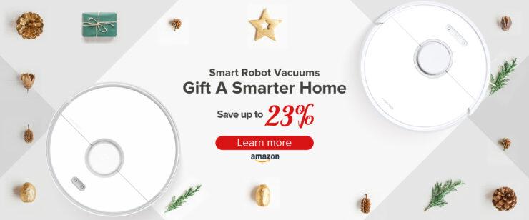 roborock smart vacuum cleaner 2019 deal christmas gift