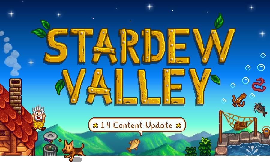 stardew valley update 1.4 switch ps4 xbox one