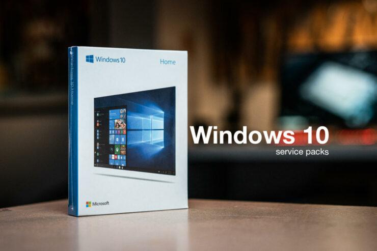 windows 10 service packs