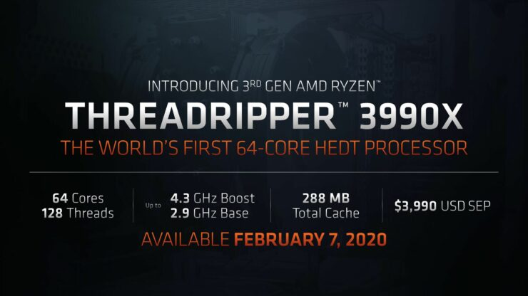 Threadripper 3990X (MOBHouse Productions)