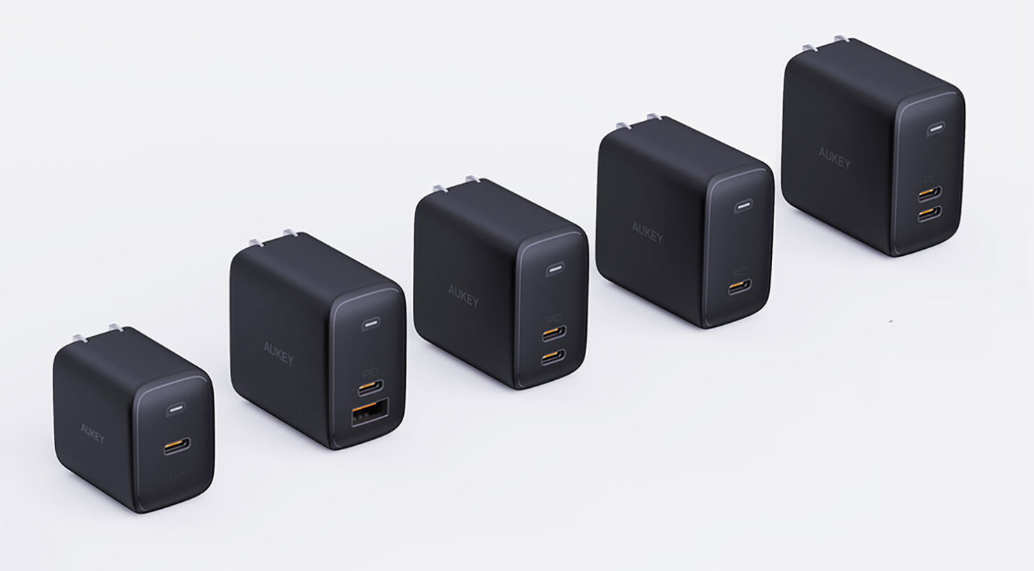 AUKEY'S Omnia Series of Chargers Are the World's Fastest - Can Top up Gadgets up to a 100W on a Single Port