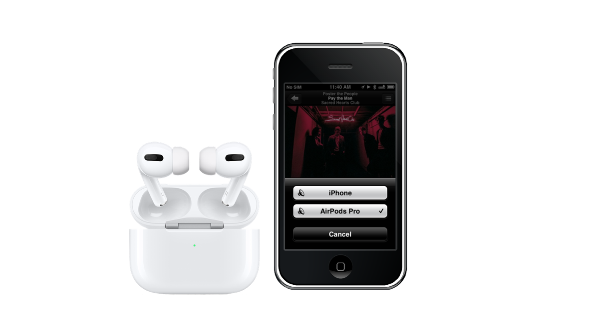 Airpods Pro Work With Iphone 3gs Noise Cancelling And All