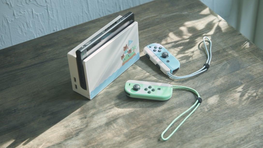Animal Crossing Themed Nintendo Switch