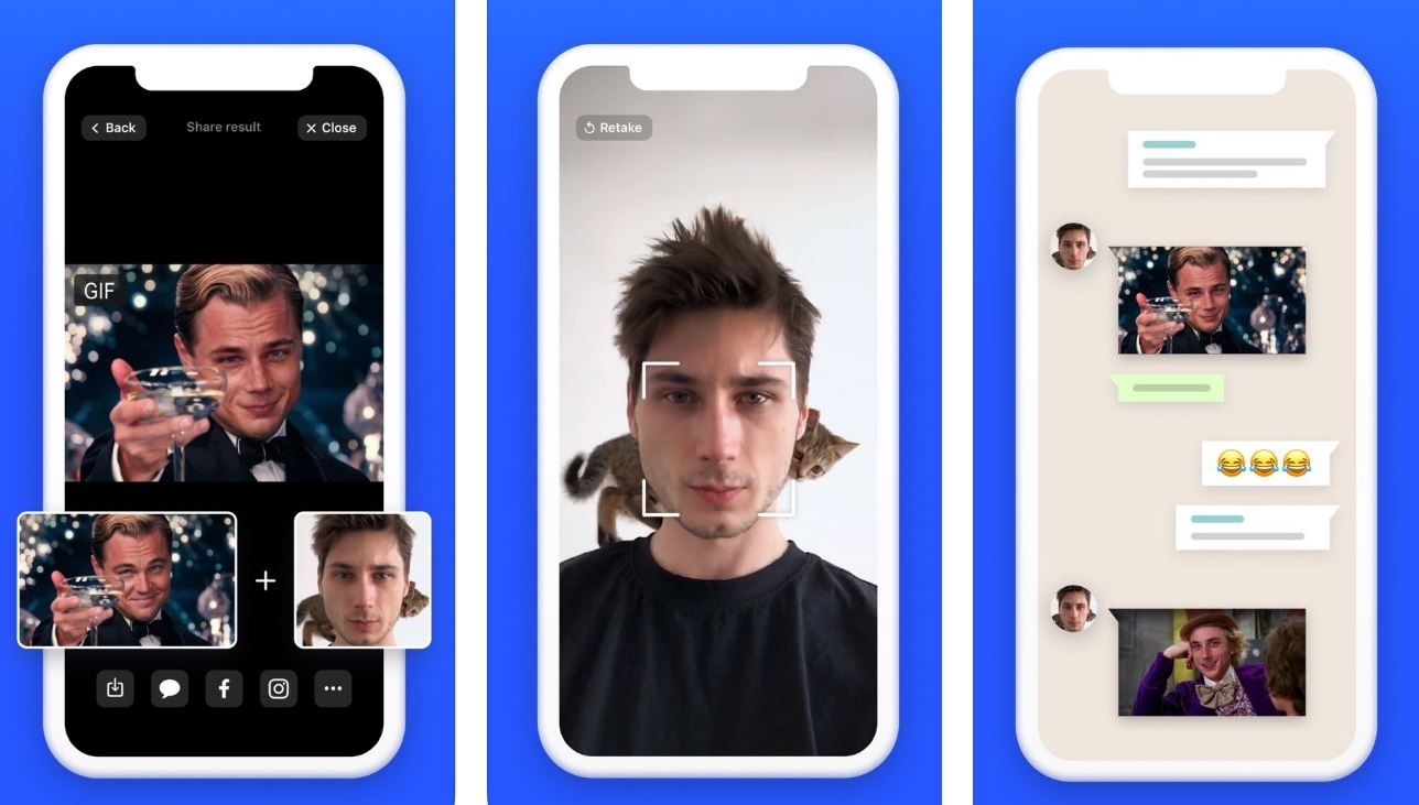 Image result for New deepfake app pastes your face onto GIFs in seconds