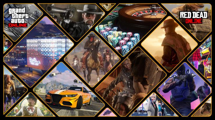 GTA Online and Red Dead Online celebration