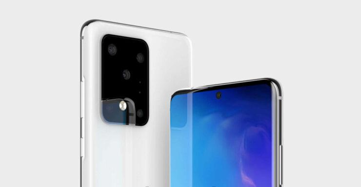 Galaxy S20 Ultra vs Galaxy Note 10 Plus size comparison