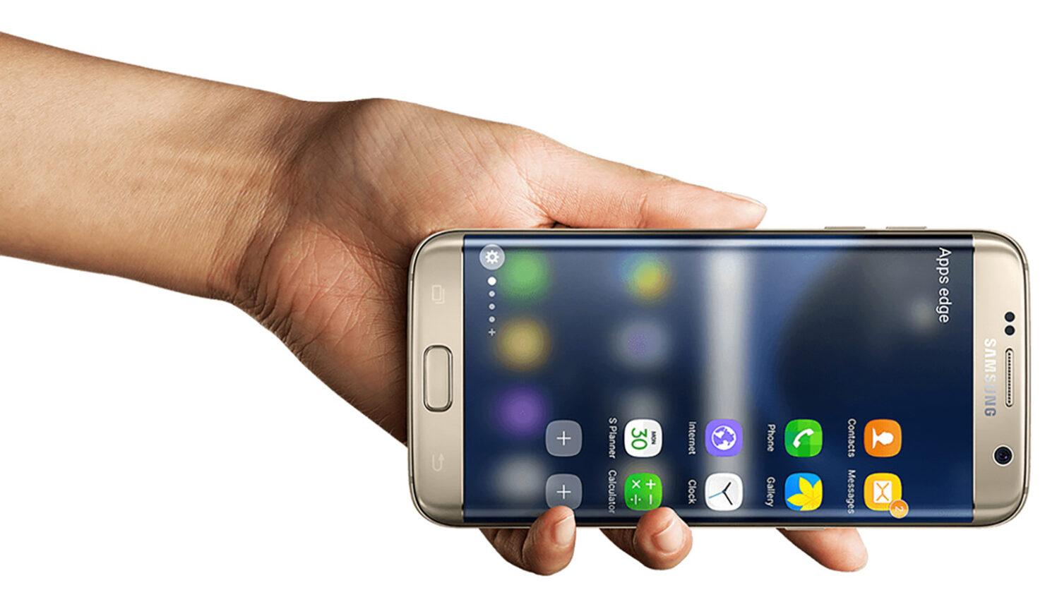 Galaxy S7 edge explodes unplugged