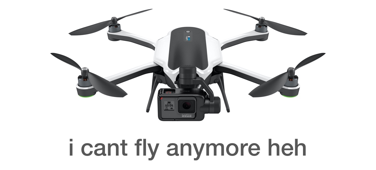 GoPro Karma grounded due to GPS rollover bug
