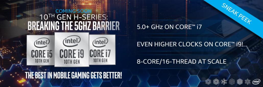 Intel Core i9-10980HK 10th Gen Mobility Flagship CPU