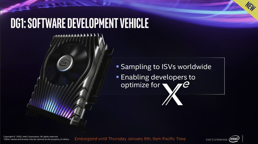 Intel Xe DG1 GPU Based Desktop Discrete Graphics Card_1