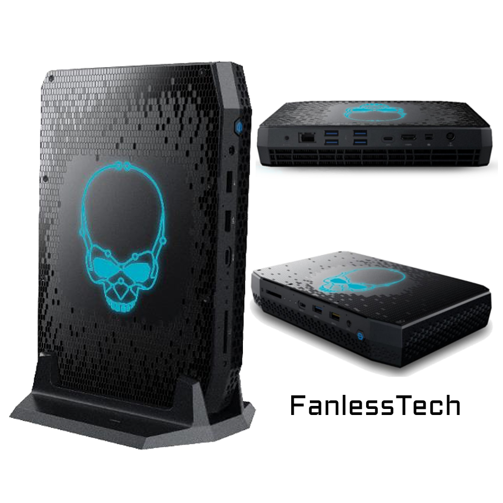 Intel NUC 11 Series With Intel's 11th Generation Tiger Lake CPUs are arriving in the second half of 2020. (Image Credits: FanlessTech)