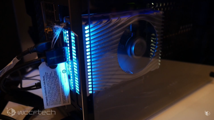 Image of article 'Intel's First Graphics Card Based on Xe DG1 GPU Gets Benchmarked'