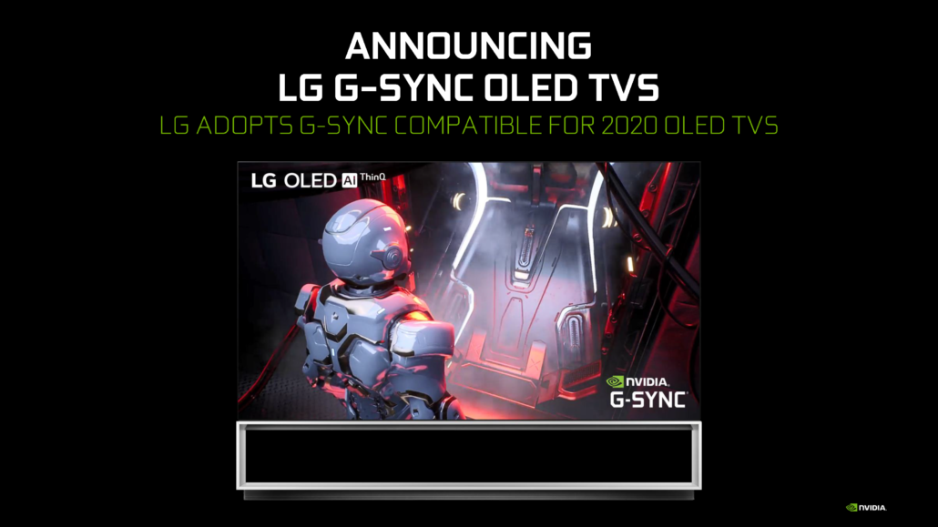 NVIDIA G-SYNC Compatible BFGD TVs