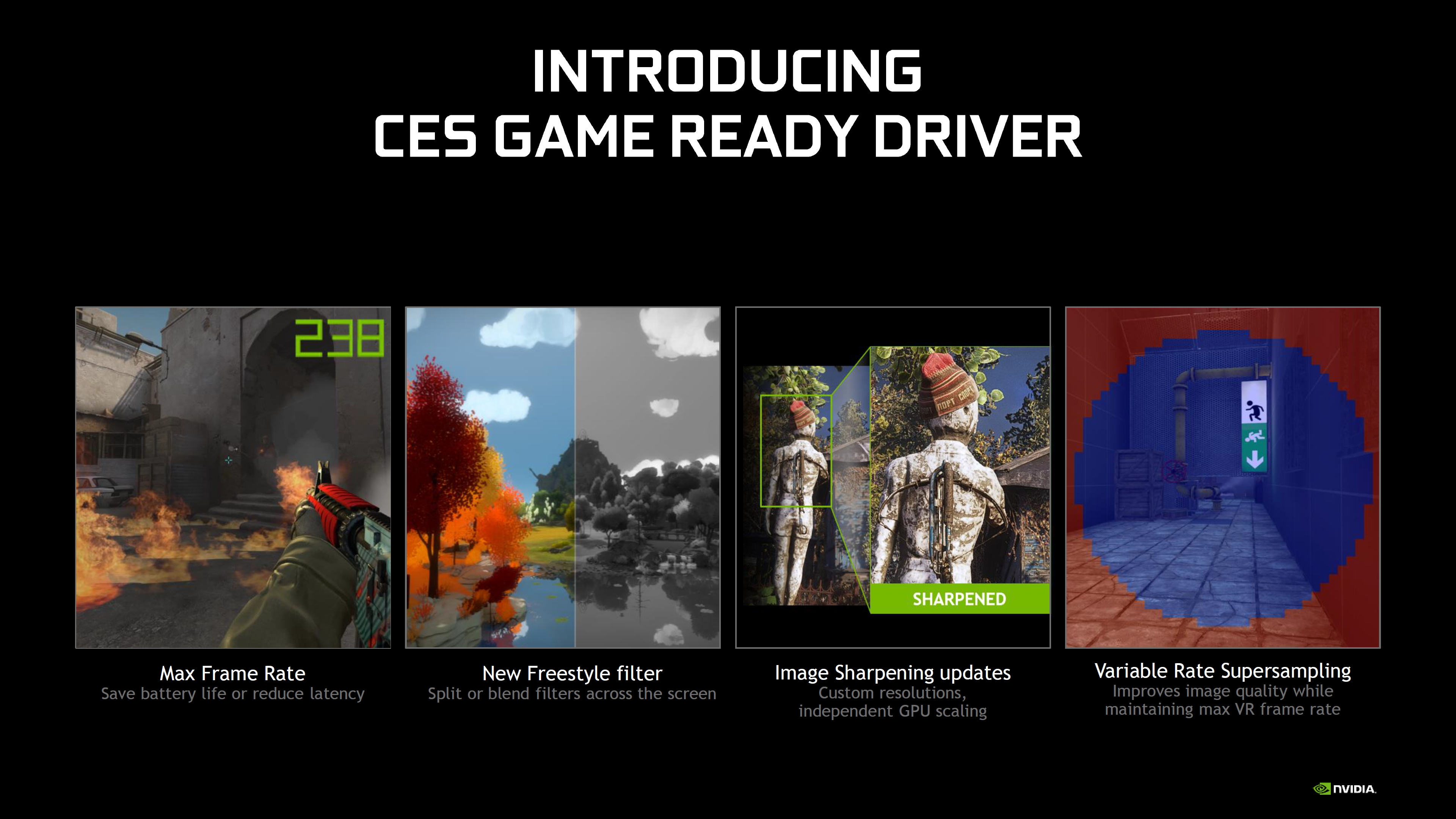Nvidia Releases Ces 2020 Game Ready Driver With Tons Of Features