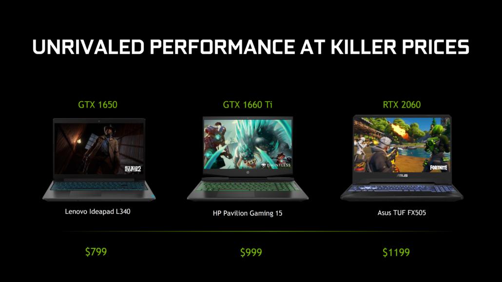 GPU NVIDIA GeForce GTX 1650 Ti y GTX 1650 SUPER Mobility detectadas en portátiles de 10a generación con CPU Intel 1