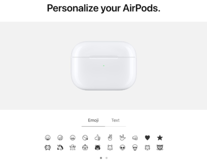 Personalize AirPods