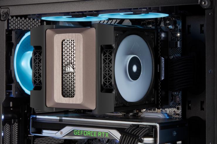 Corsair Announces The A500 Air Cooler Amp The Icue Rgb Pro