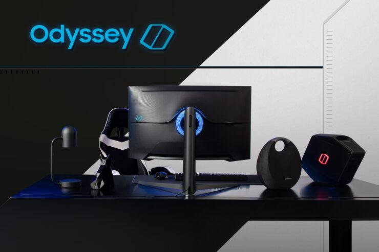 Samsung introduce los monitores curvos The Odyssey, que se presentarán en el CES 2020 2